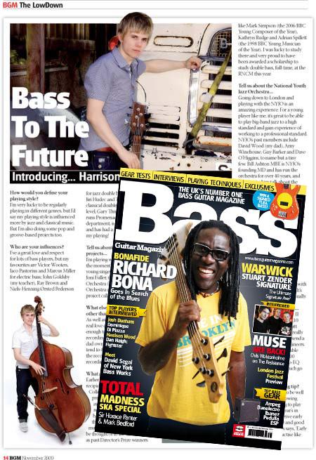 Bass Guitar Magazine (November 2009)