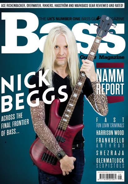 Bass Guitar Magazine (March 2016)